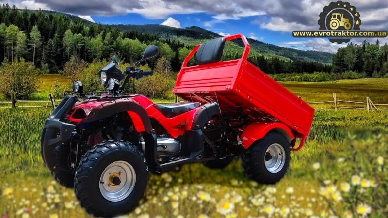Вантажний квадроцикл АТВ Хамер Карго 200